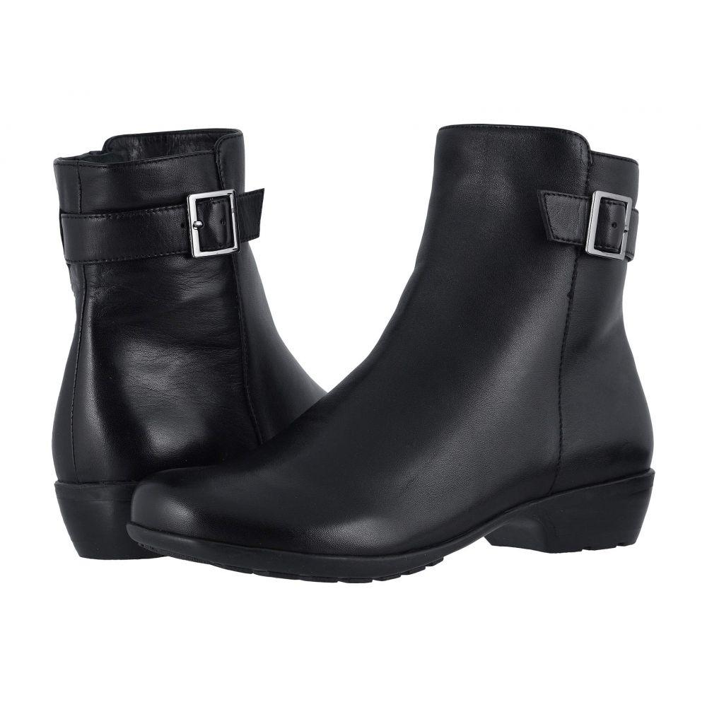 ウォーキング クレードル Walking Cradles レディース ブーツ シューズ・靴【Estelle】Black Nappa
