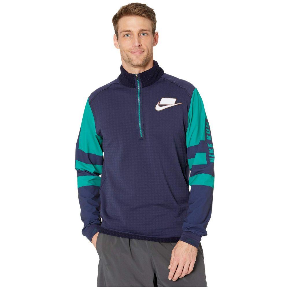 ナイキ Nike メンズ ランニング・ウォーキング ミッドレイヤー トップス【Wild Run Midlayer】Blackened Blue/Reflective Silver