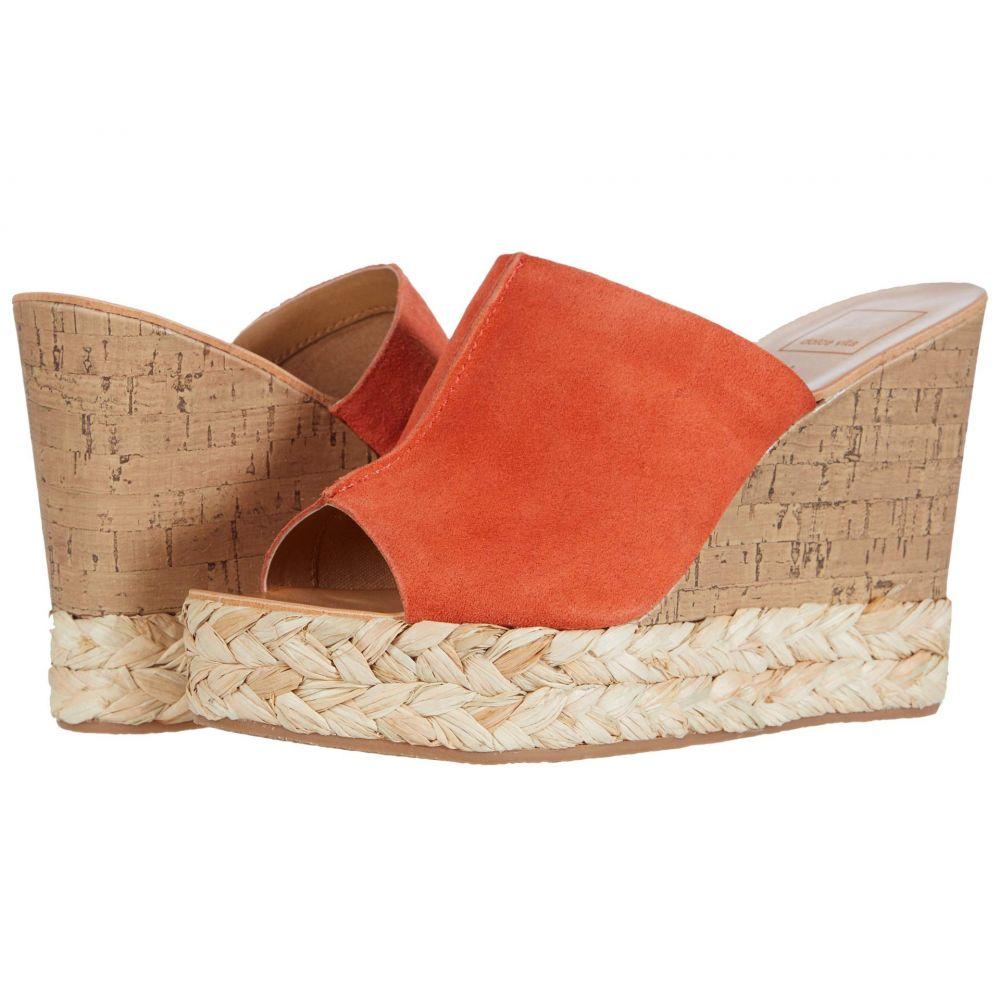 ドルチェヴィータ Dolce Vita レディース サンダル・ミュール シューズ・靴【Lova】Orange Suede