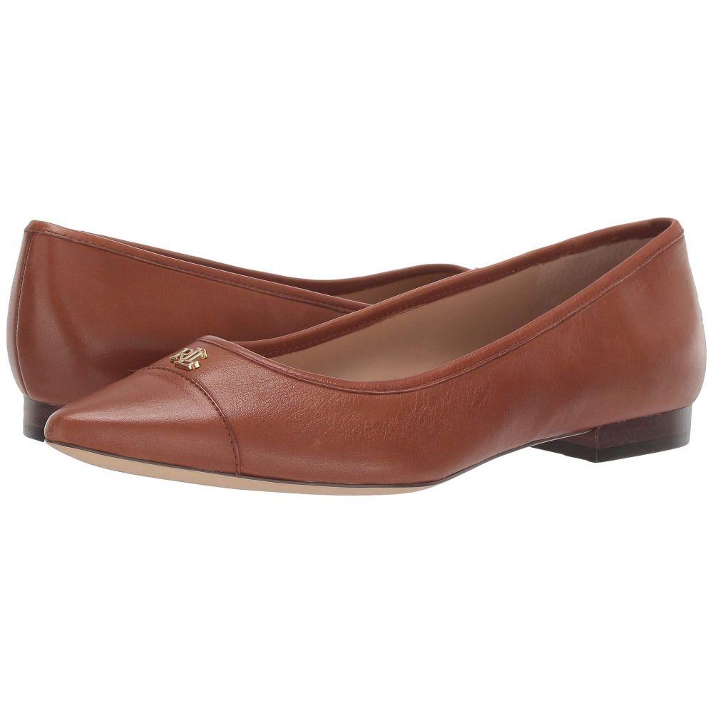 ラルフ ローレン LAUREN Ralph Lauren レディース スリッポン・フラット シューズ・靴【Halena】Deep Saddle Tan Super Soft Leather