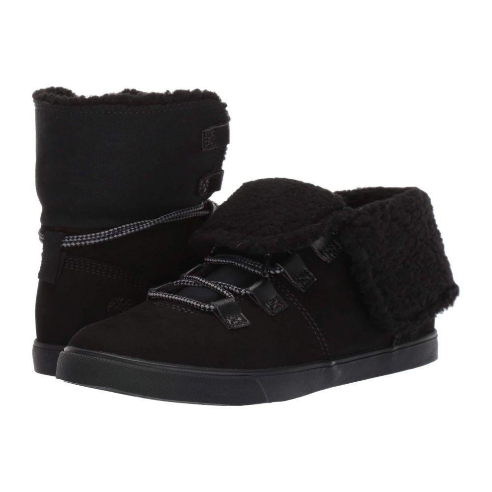 ティンバーランド Timberland レディース ブーツ シューズ・靴【Dausette Fleece Fold Down】Black Nubuck