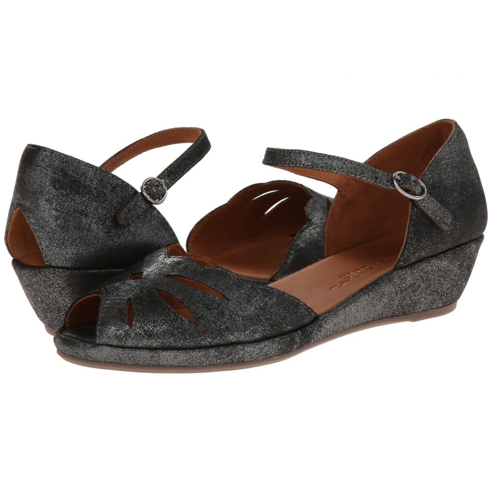 ケネス コール Gentle Souls by Kenneth Cole レディース ヒール シューズ・靴【Lily Moon】Graphite Metallic Suede