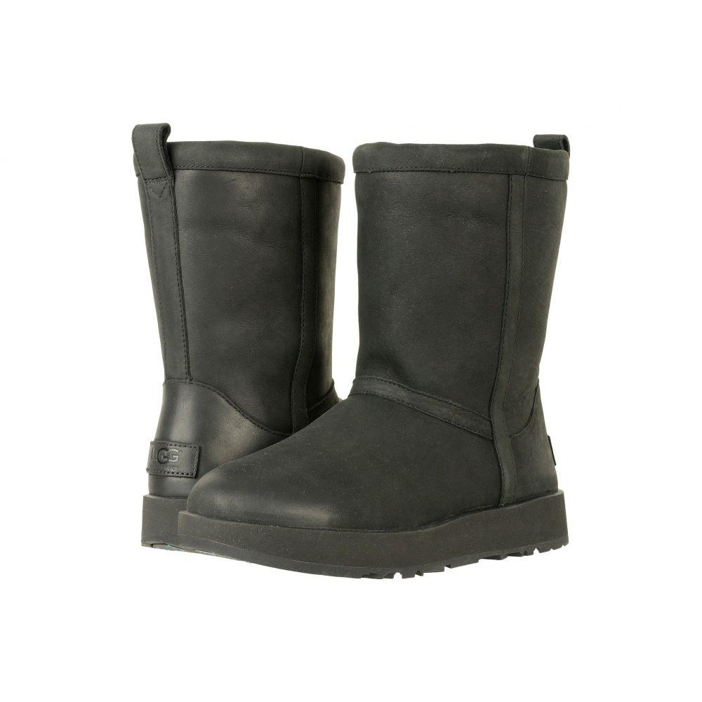 アグ UGG レディース ブーツ シューズ・靴【Classic Short L Waterproof】Black