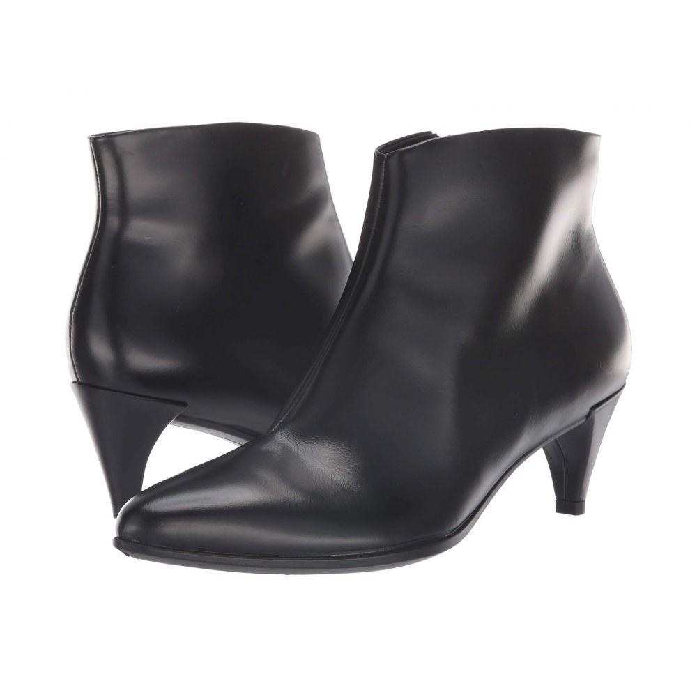 エコー ECCO レディース ブーツ キトゥンヒール シューズ・靴【Shape 45 Kitten Heel Boot】Black Calf Leather