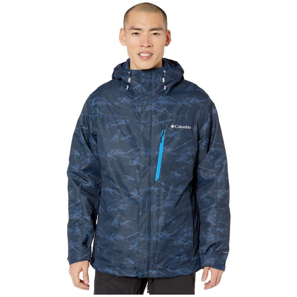 コロンビア Columbia メンズ スキー・スノーボード ジャケット アウター【Whirlibird IV Interchange Jacket】Collegiate Navy Mountains Jacquard Print