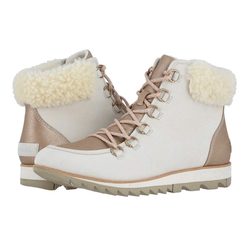 ソレル SOREL レディース ブーツ シューズ・靴【Harlow Lace Lux】Natural