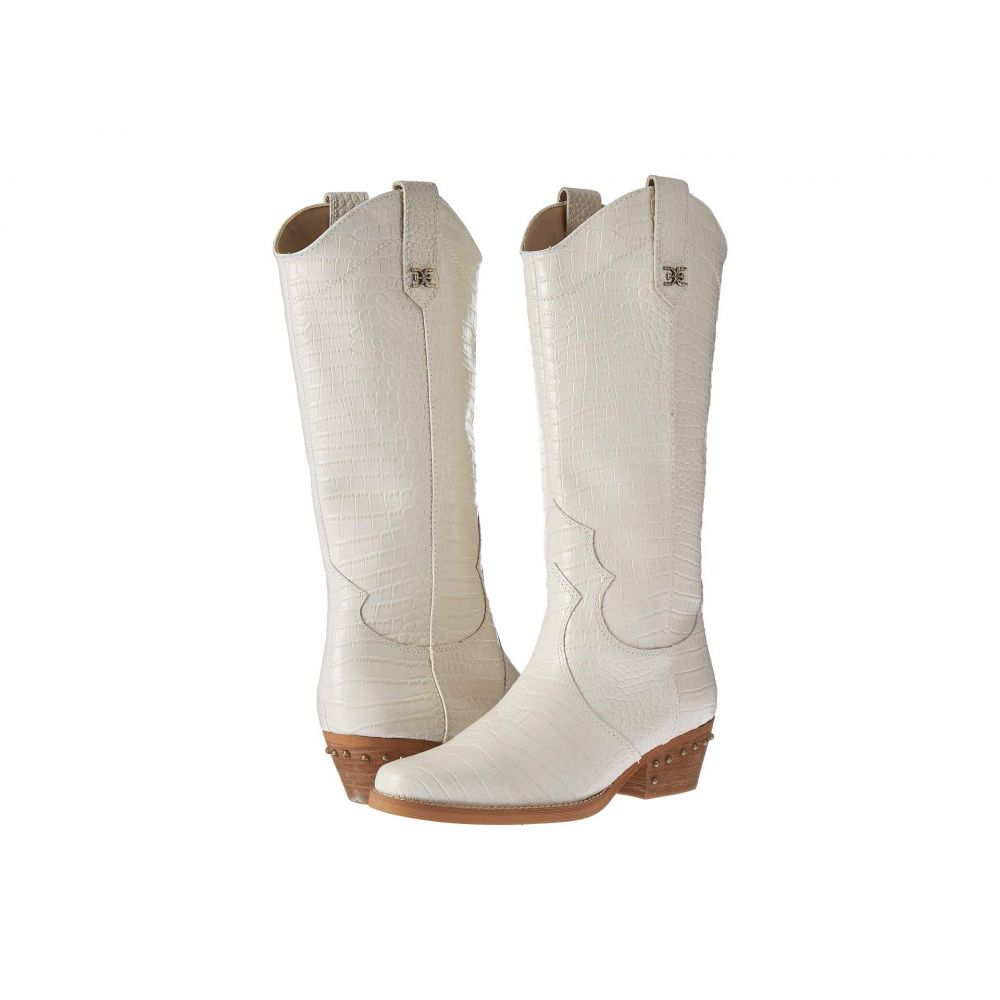 サム エデルマン Sam Edelman レディース ブーツ シューズ・靴【Oakland】Modern Ivory Kenya Croco Embossed Leather