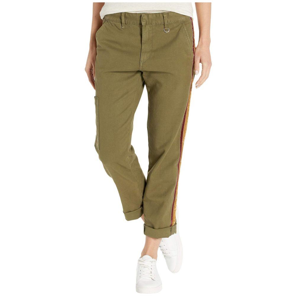 ジョーズジーンズ Joe's Jeans レディース クロップド ボトムス・パンツ【The Ankle Velvet Trousers】Dark Olive