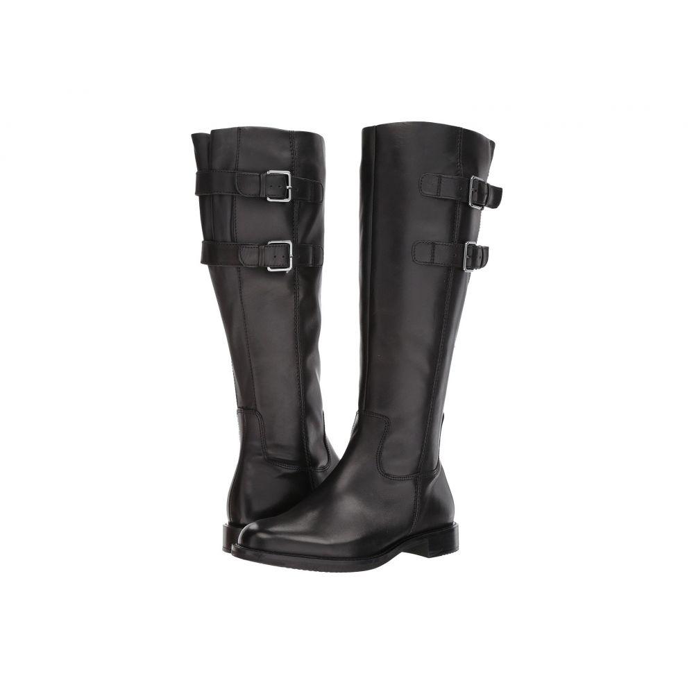 エコー ECCO レディース ブーツ シューズ・靴【Shape 25 Tall Buckle】Black Cow Leather
