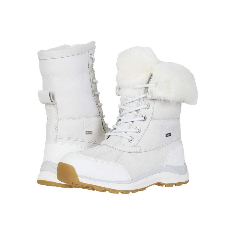 アグ UGG レディース ブーツ シューズ・靴【Adirondack Boot III Fluff】White
