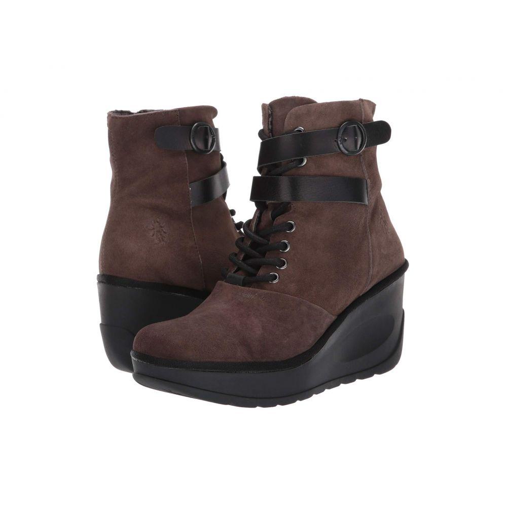 フライロンドン FLY LONDON レディース ブーツ シューズ・靴【JABI070FLY】Grey/Black Ranch/Rug