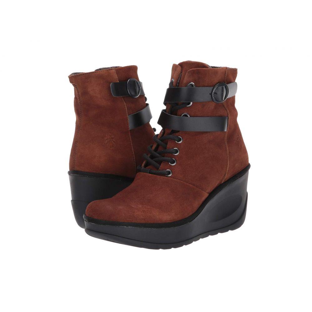 フライロンドン FLY LONDON レディース ブーツ シューズ・靴【JABI070FLY】Cognac/Black Ranch/Rug