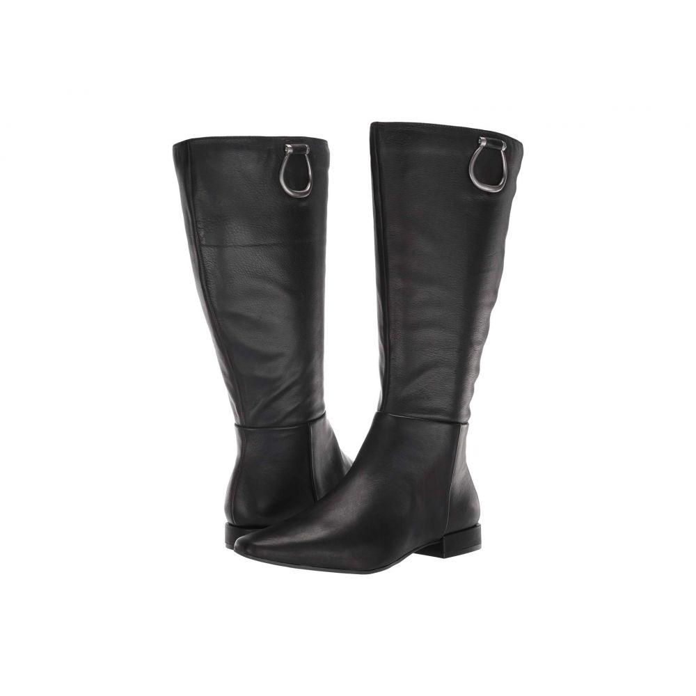 ナチュラライザー Naturalizer レディース ブーツ シューズ・靴【Carella Wide Shaft】Black Leather