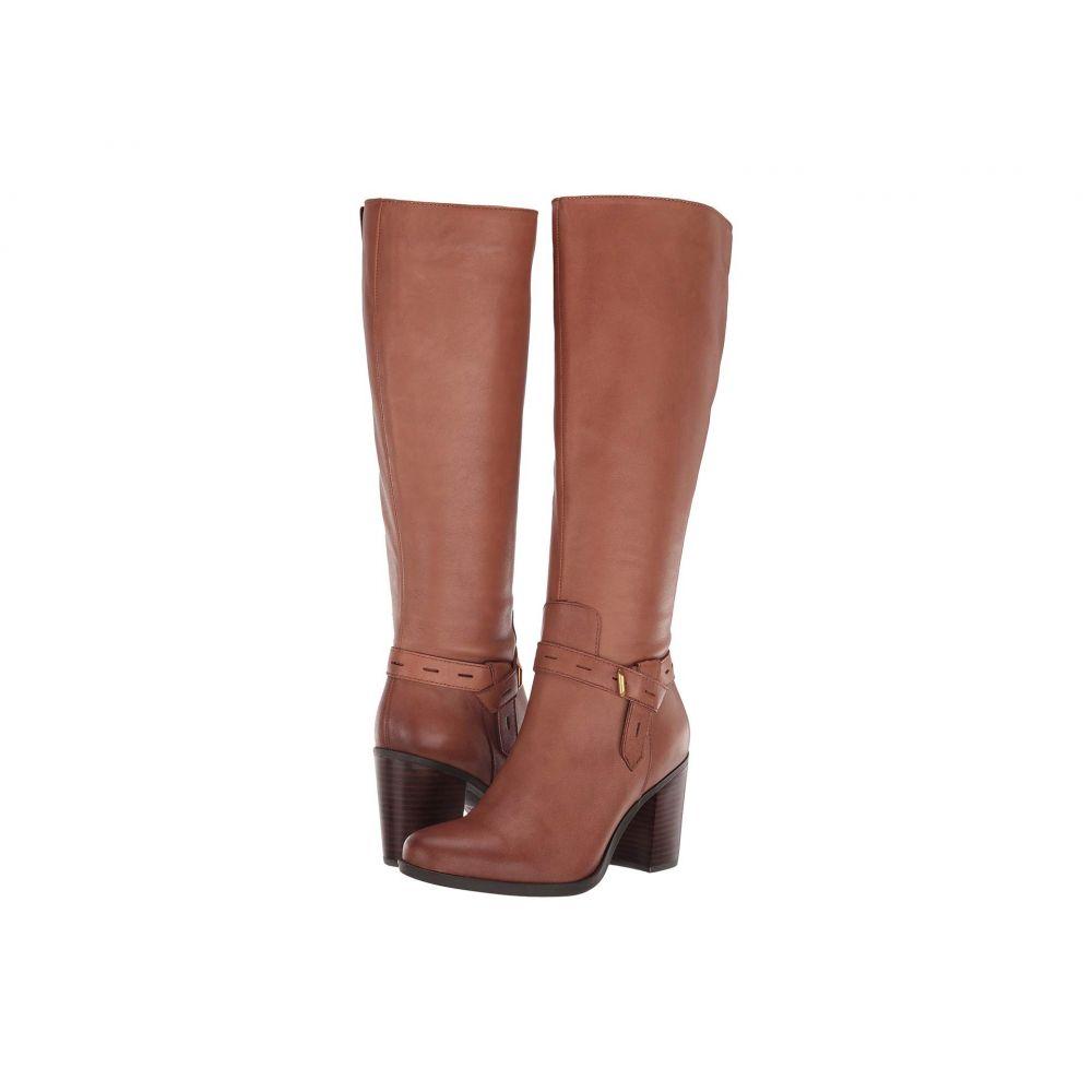 Leather レディース ナチュラライザー シューズ・靴【Kamora】Saddle Naturalizer ブーツ Tan