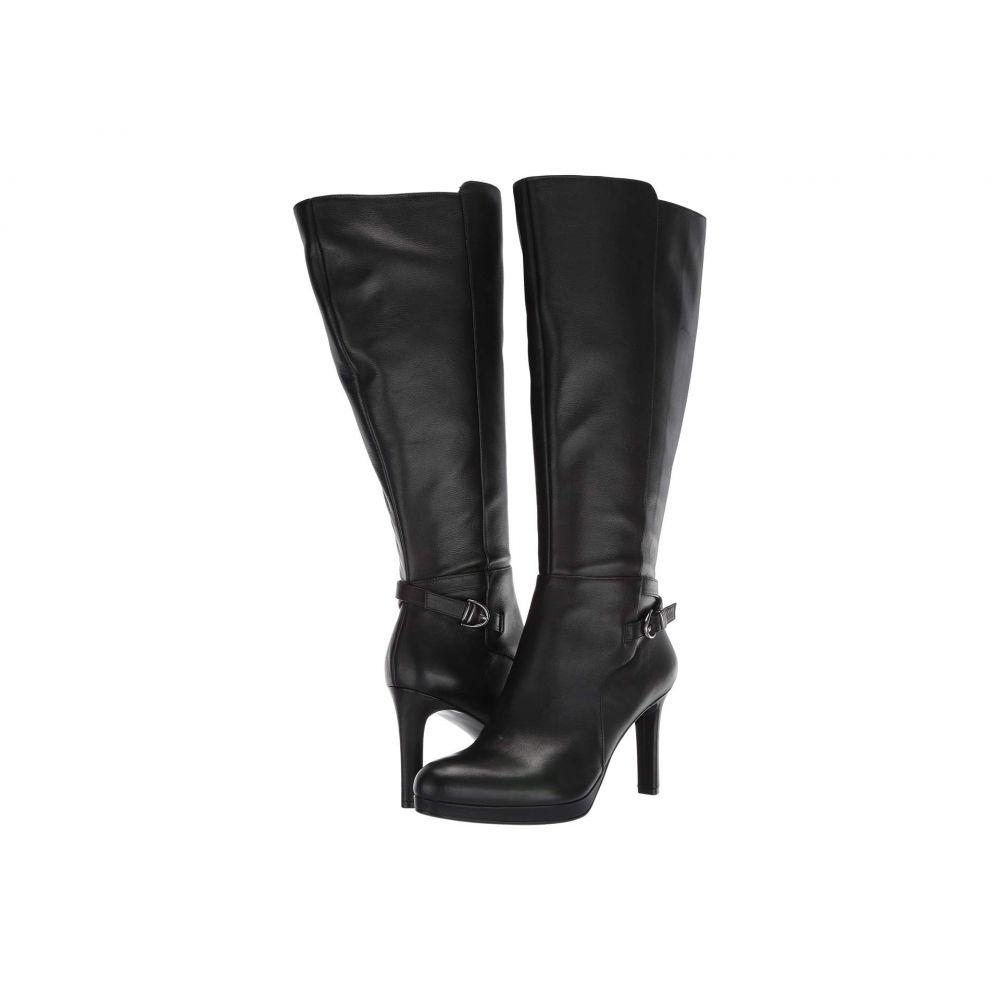 ナチュラライザー Naturalizer レディース ブーツ シューズ・靴【Tai Wide Calf】Black Leather
