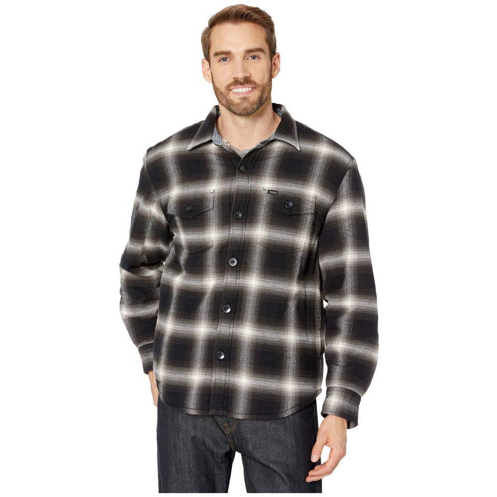 トゥルーグリット True Grit メンズ ジャケット シャツジャケット アウター【Summit Shirt Jacket with Ultra Soft Sherpa Lining】Black
