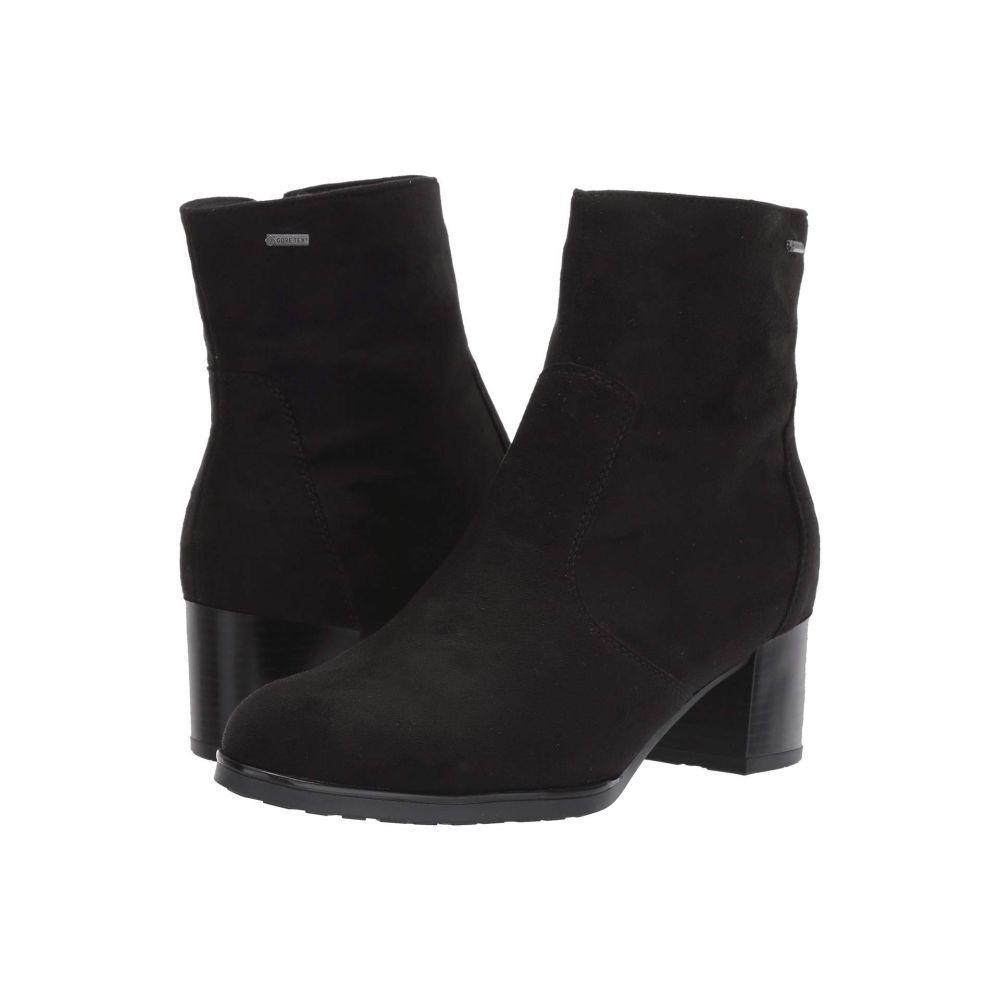 アラ ara レディース ブーツ シューズ・靴【Fauna】Black Hydro Scala