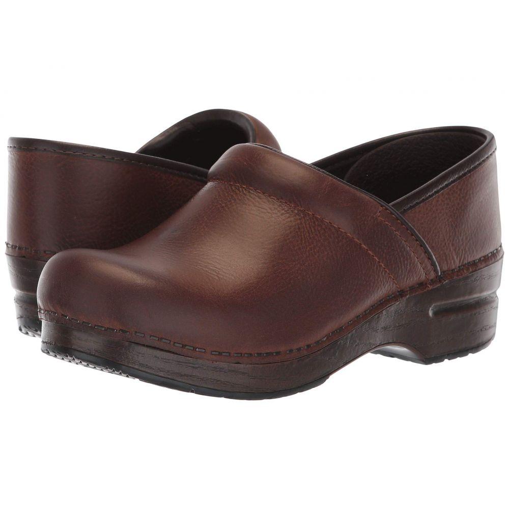 ダンスコ Dansko レディース シューズ・靴 【Professional】Brown Burnished Nubuck