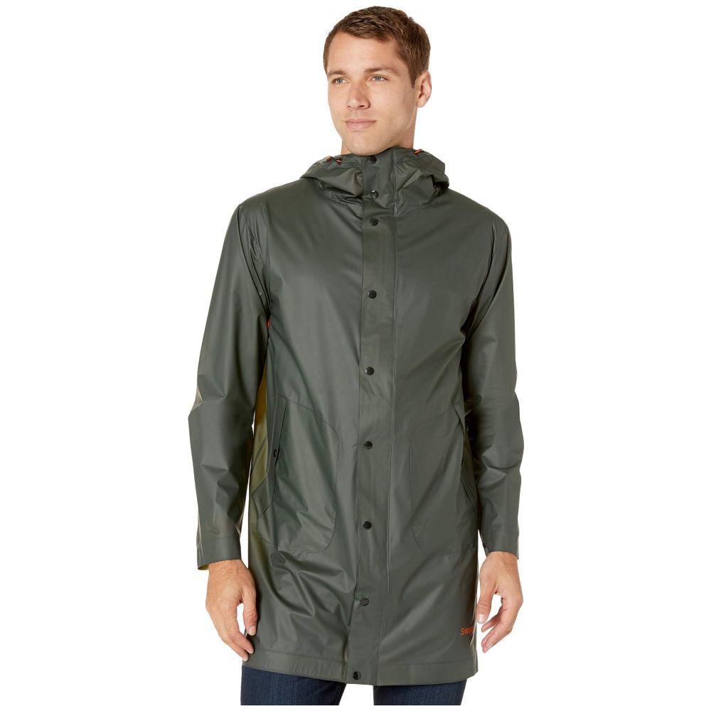 スウィムス SWIMS メンズ レインコート アウター【Basel Raincoat】Olive