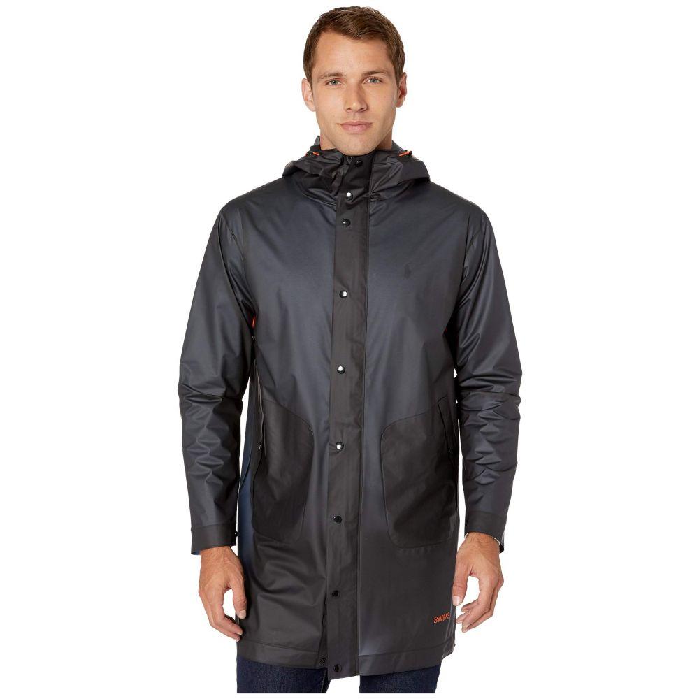 スウィムス SWIMS メンズ レインコート アウター【Basel Raincoat】Navy