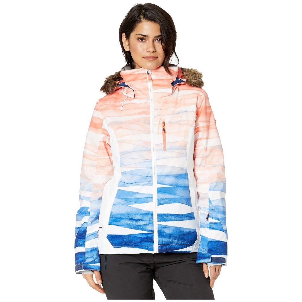 ロキシー Roxy レディース スキー・スノーボード ジャケット アウター【Jet Ski Premium Snow Jacket】Mid Denim Yumi Yamada Print