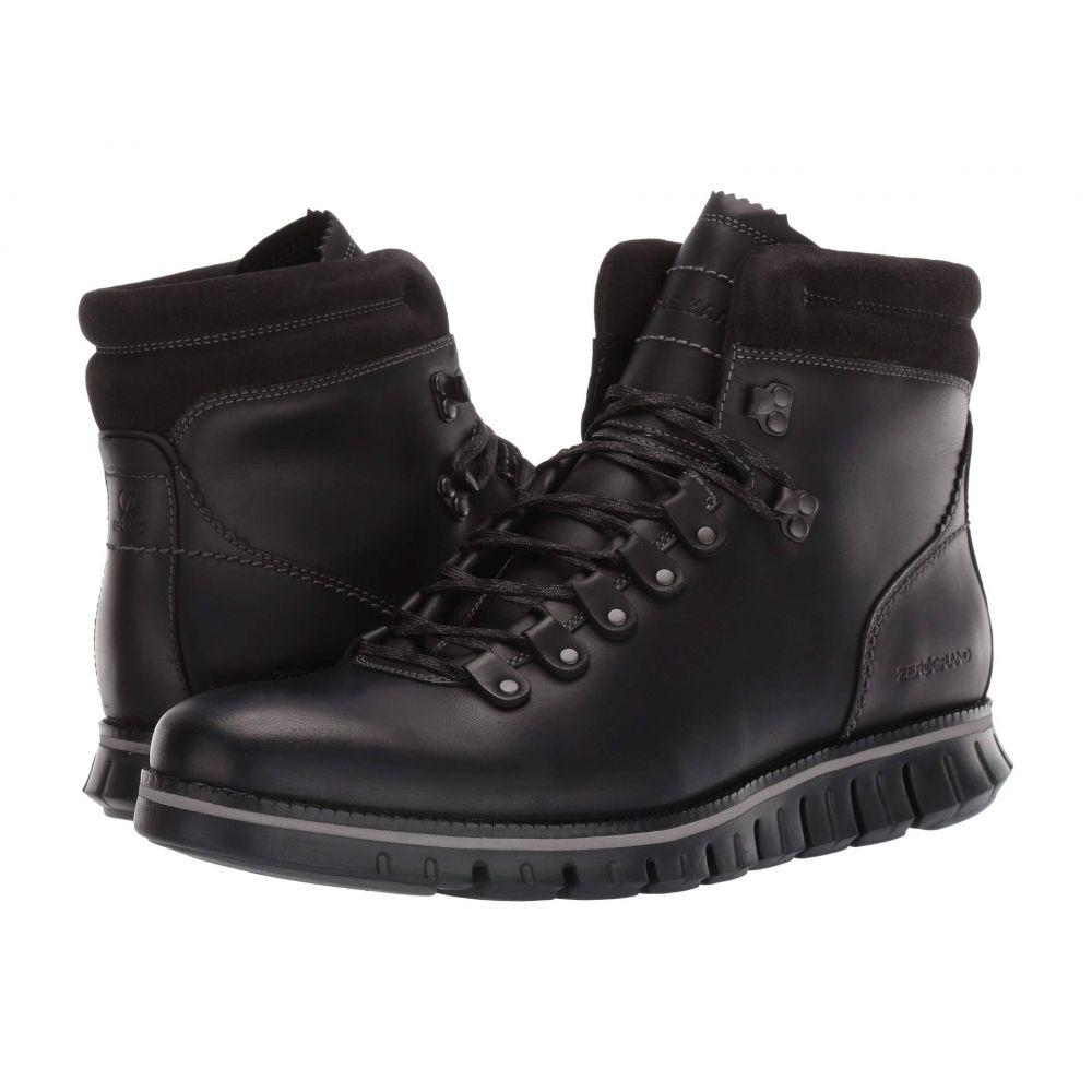 コールハーン Cole Haan メンズ ハイキング・登山 シューズ・靴【Zerogrand Hiker WP】Waterproof Black Leather/Black