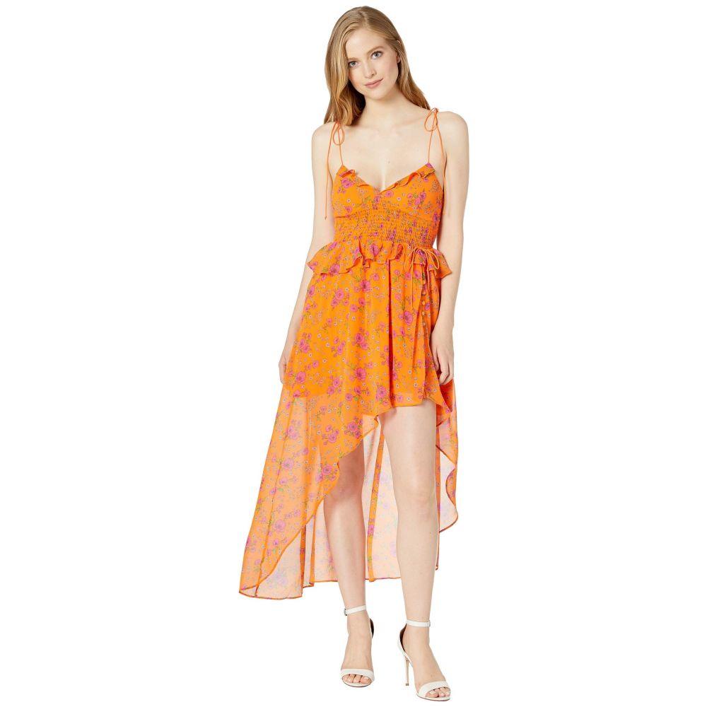 フォーラブアンドレモン For Love and Lemons レディース ワンピース ワンピース・ドレス【Peony High-Low Dress】Tangerine