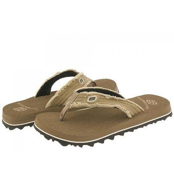 スケッチャーズ SKECHERS メンズ ビーチサンダル シューズ・靴【Fray】Brown Textile