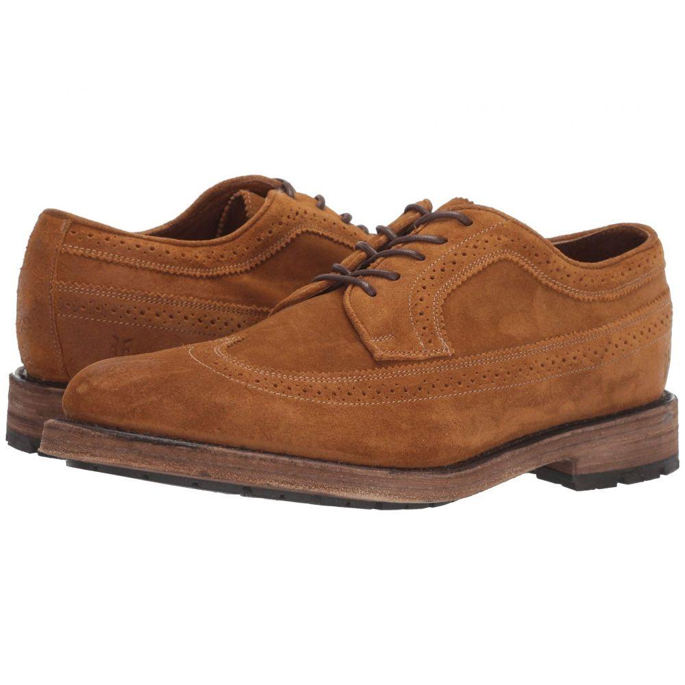 フライ Frye メンズ 革靴・ビジネスシューズ ウイングチップ シューズ・靴【Bowery Wingtip】Wheat Oiled Suede
