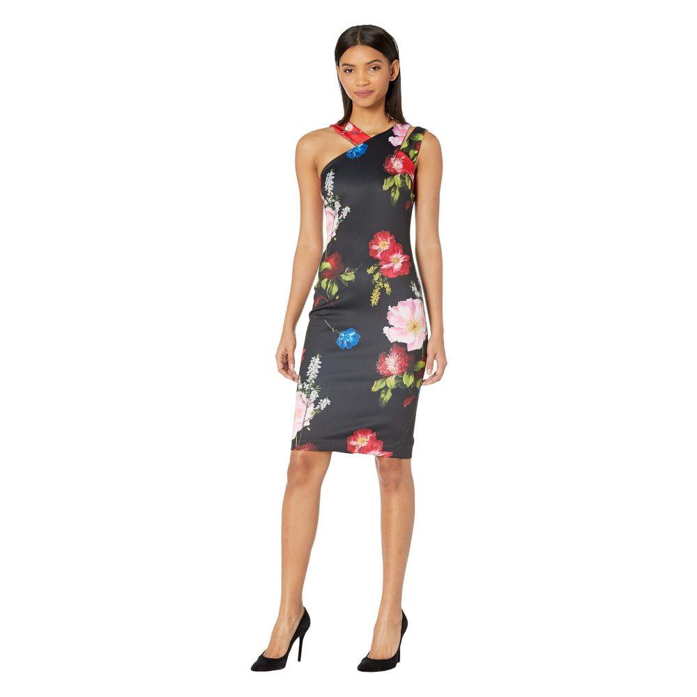 テッドベーカー Ted Baker レディース ワンピース ワンピース・ドレス【Polayo Berry Sundae Asymmetric Dress】Black