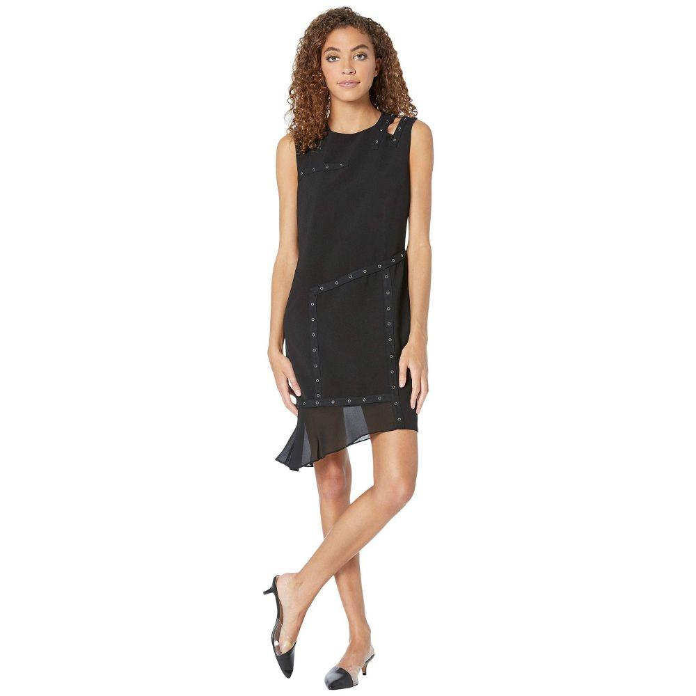 ニコルミラー Nicole Miller レディース ワンピース ワンピース・ドレス【Grommet Dress w/ Cut Out Shoulder】Black
