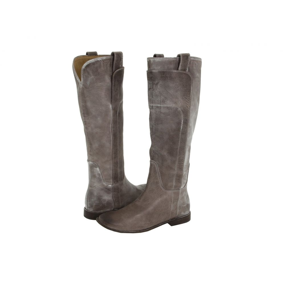 フライ Frye レディース ブーツ シューズ・靴【Paige Tall Riding】Grey Burnished Antique Leather