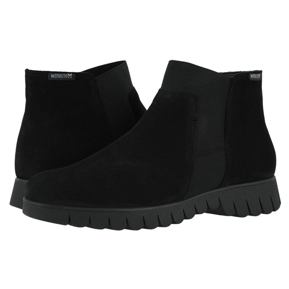 メフィスト Mephisto レディース ブーツ シューズ・靴【Lyana】Black Bucksoft