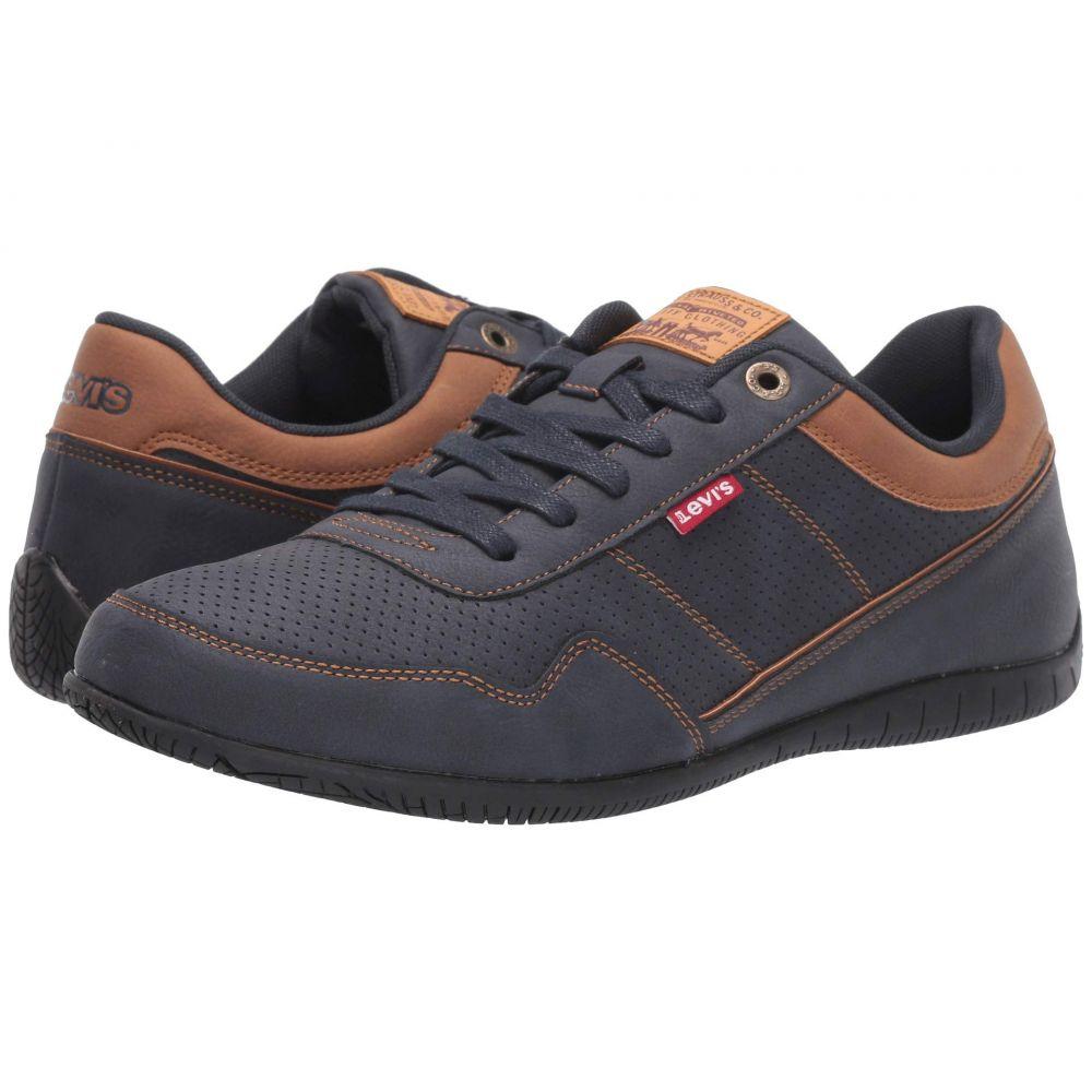 リーバイス Levi's Shoes メンズ スニーカー シューズ・靴【Rio Waxed UL NB BT】Navy/Tan