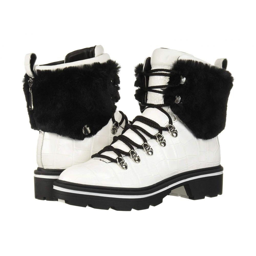 シガーソン モリソン Sigerson Morrison レディース ブーツ シューズ・靴【Macre 2】White Leather/Faux Fur
