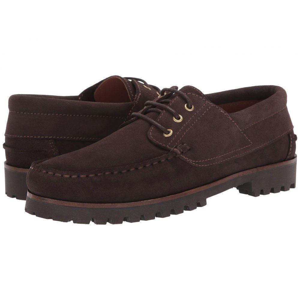 アクアタリア Aquatalia メンズ 革靴・ビジネスシューズ シューズ・靴【Dax】Dark Brown Suede