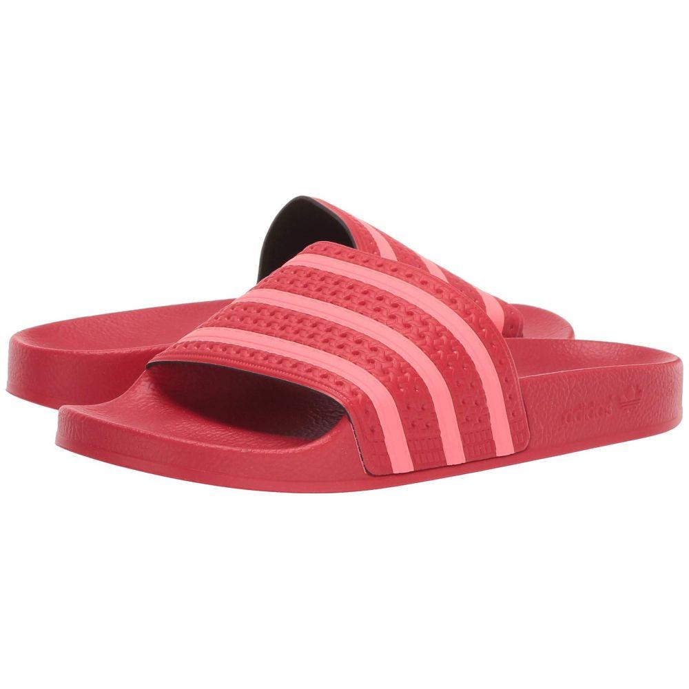 アディダス adidas レディース サンダル・ミュール シューズ・靴【Adilette】Scarlet/Flash Red/Scarlet
