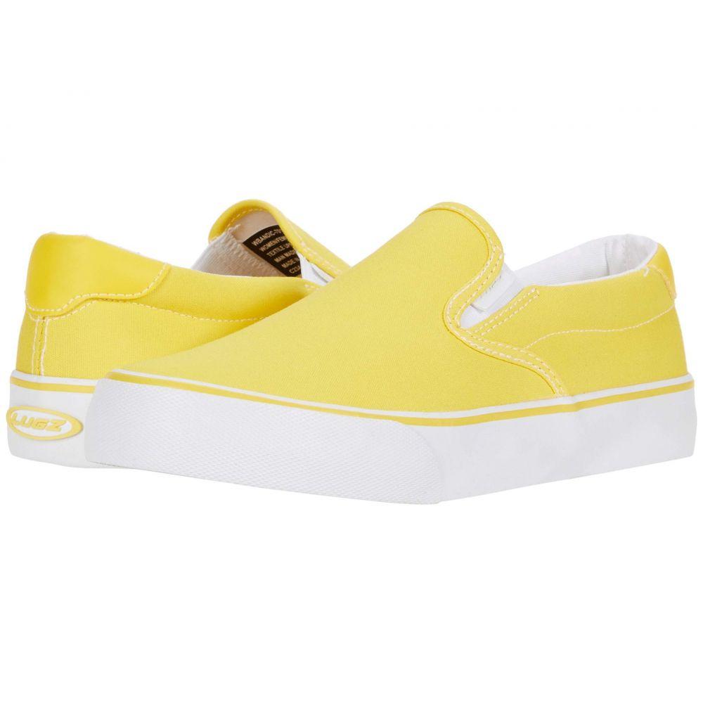 レディース Lugz シューズ・靴【Bandit】Yellow/White スニーカー ラグズ