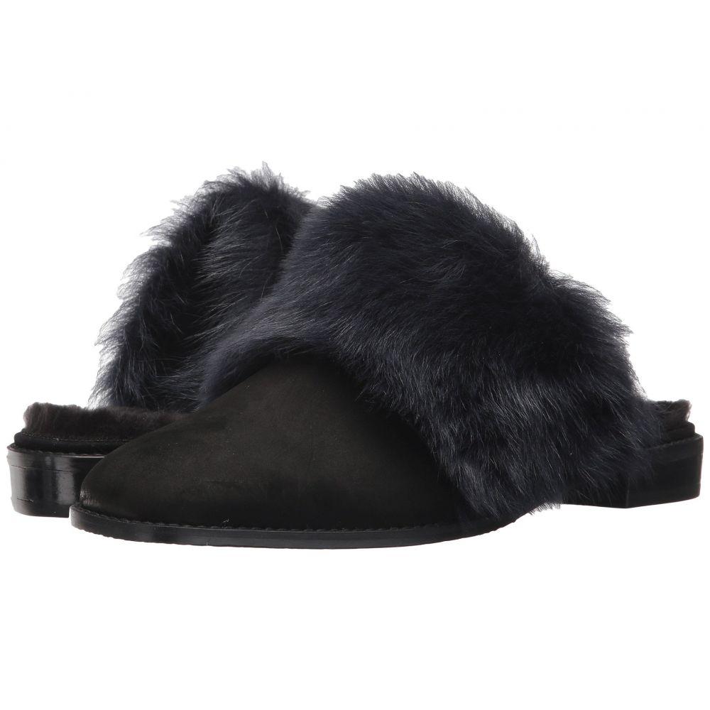 スチュアート ワイツマン Stuart Weitzman レディース ローファー・オックスフォード シューズ・靴【Furgetit】Raven Long Fur