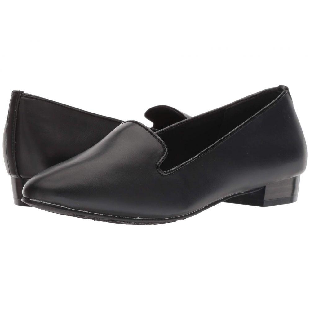ソフトスタイル Soft Style レディース ローファー・オックスフォード シューズ・靴【Charmy】Black Vitello