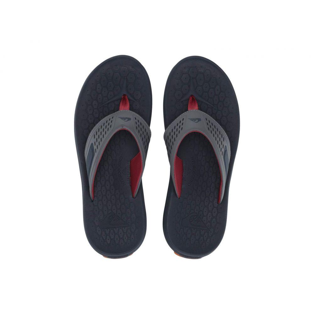 クイックシルバー Quiksilver メンズ ビーチサンダル シューズ・靴【Layover Travel Sandal】Blue/Grey/Blue
