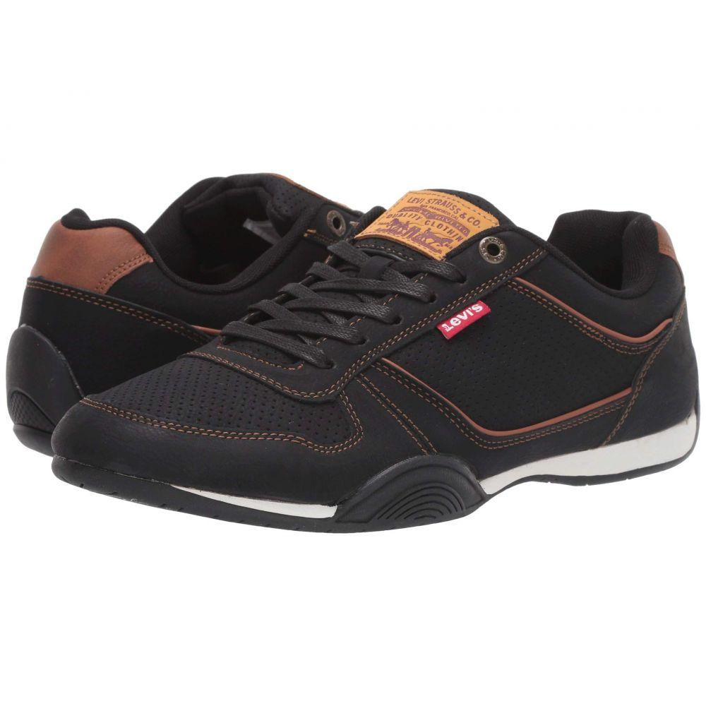 リーバイス Levi's Shoes メンズ スニーカー シューズ・靴【Flag Waxed UL NB】Black/Tan