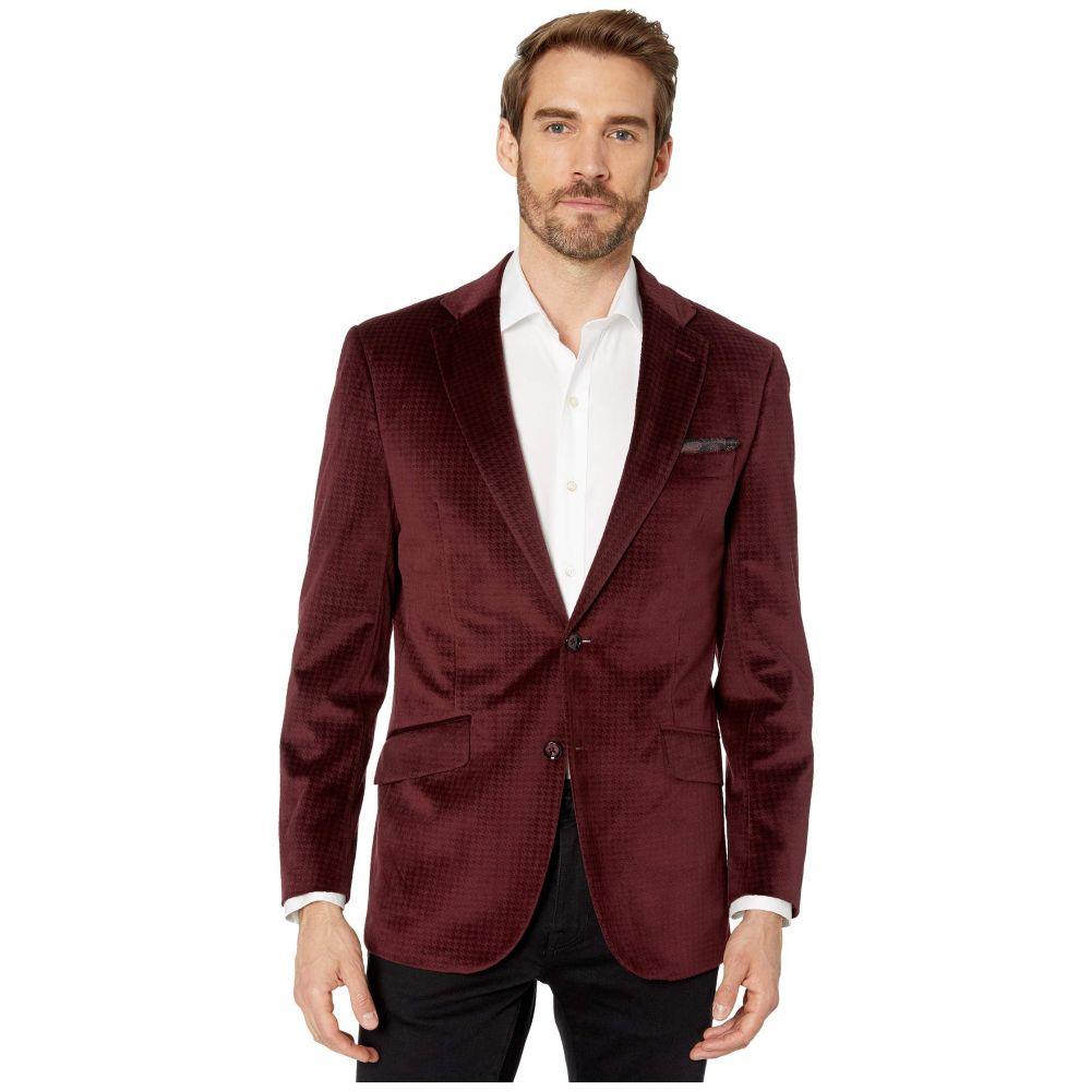 ロバートグラハム Robert Graham メンズ スーツ・ジャケット アウター【Wilkes Sport Coat】Burgundy