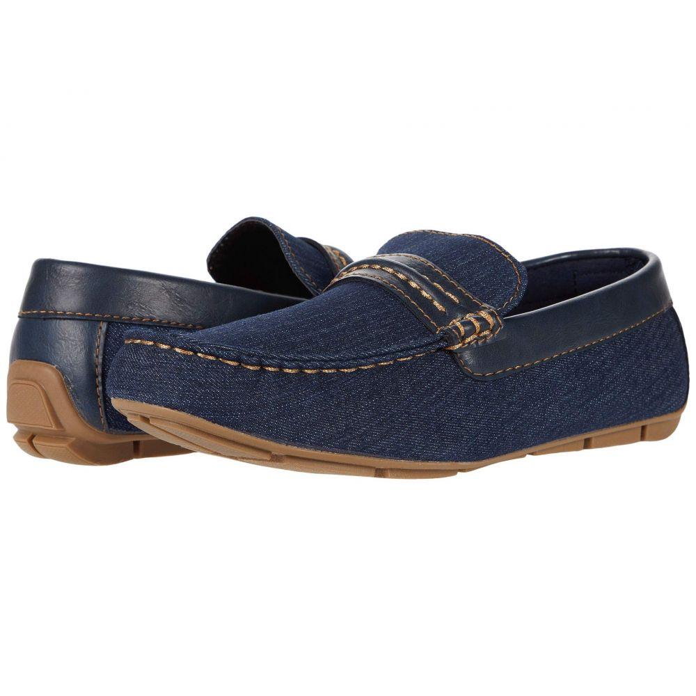 リーバイス Levi's Shoes メンズ ローファー シューズ・靴【Warren Denim/Burnish】Navy