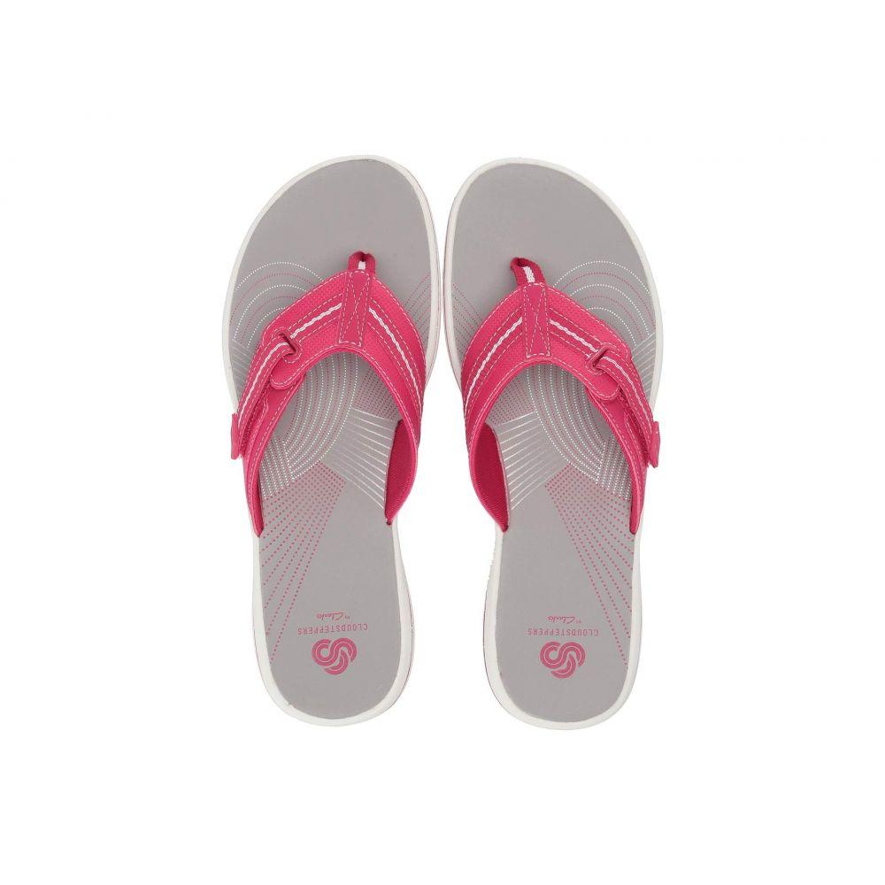 クラークス Clarks レディース ビーチサンダル シューズ・靴【Brinkley Jazz】Bright Rose Synthetic