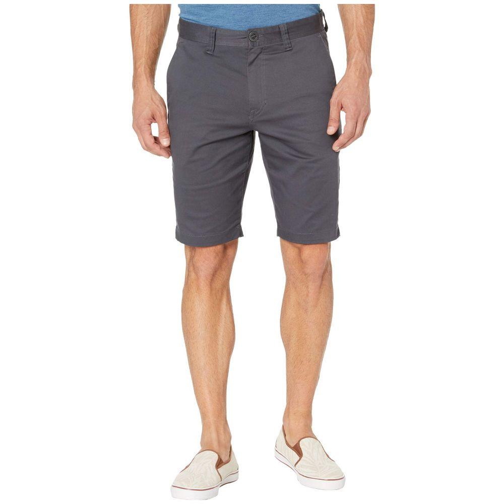 ボルコム Volcom メンズ ショートパンツ ボトムス・パンツ【Frickin Modern Stretch Chino Shorts】Charcoal
