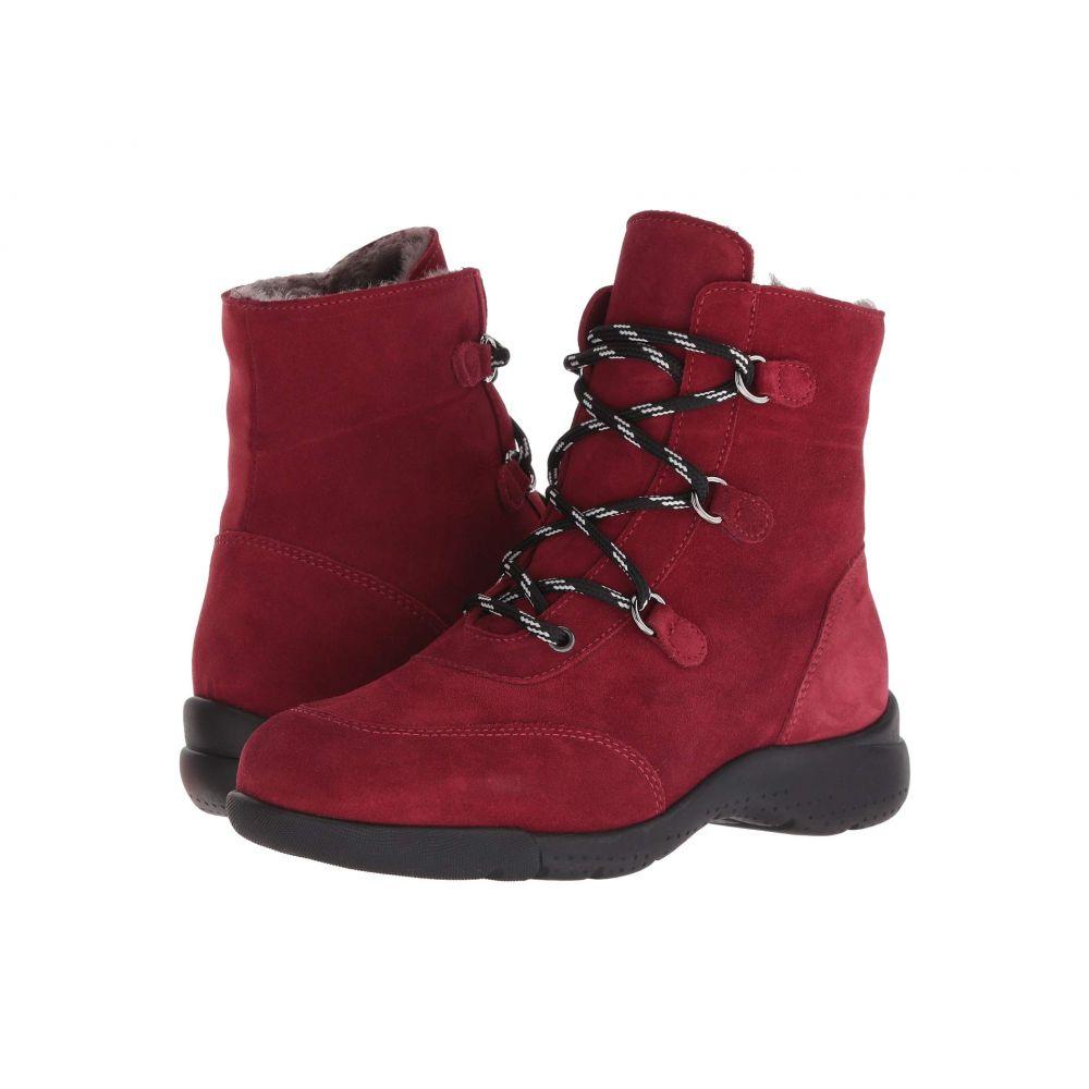 ラ カナディアン La Canadienne レディース ブーツ シューズ・靴【Nicole】Red Suede/Shearling Lined