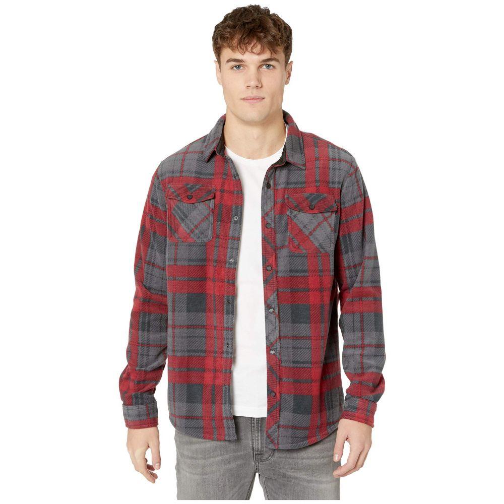 オニール O'Neill メンズ シャツ トップス【Glacier Plaid Shirt】Deep Red