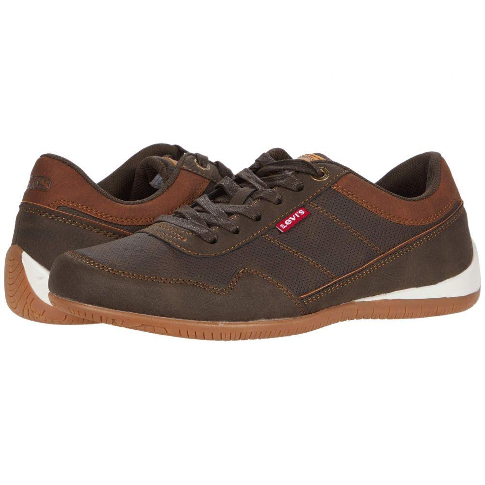 リーバイス Levi's Shoes メンズ スニーカー シューズ・靴【Rio 3 Tumbled Wax】Brown/Tan