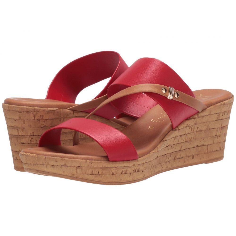イタリアンシューメーカー Italian Shoemakers レディース サンダル・ミュール シューズ・靴【Rubena】Red